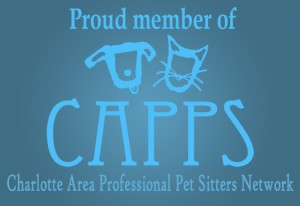 Proud Member of Charlotte Area Professional Pet Sitters