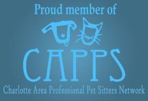 Proud Member of Charlotte Area Professional Pet Sitters