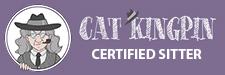 Cat Kingpin Certified Sitter